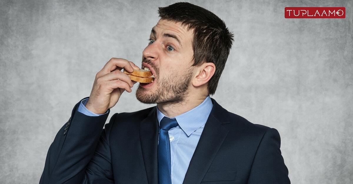 Tinkijä yrittää syödä leipäsi