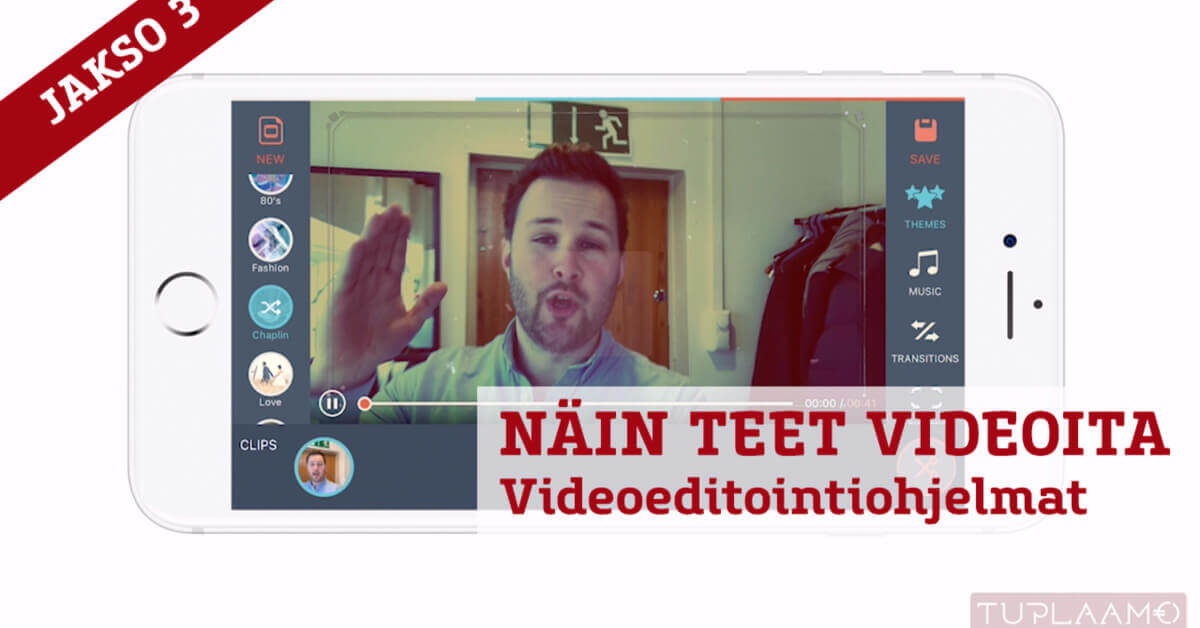 Näin teet videoita – Videoeditointiohjelmat