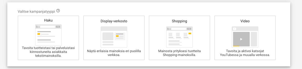 Google Adwords on saanut uuden mainosmuodon