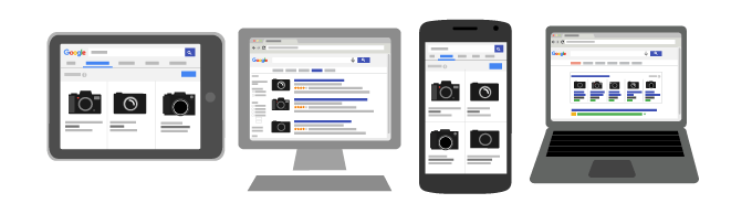 Google Shopping mainosten sijoittelu