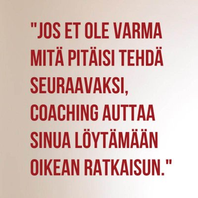 Coaching Pasi Rautio