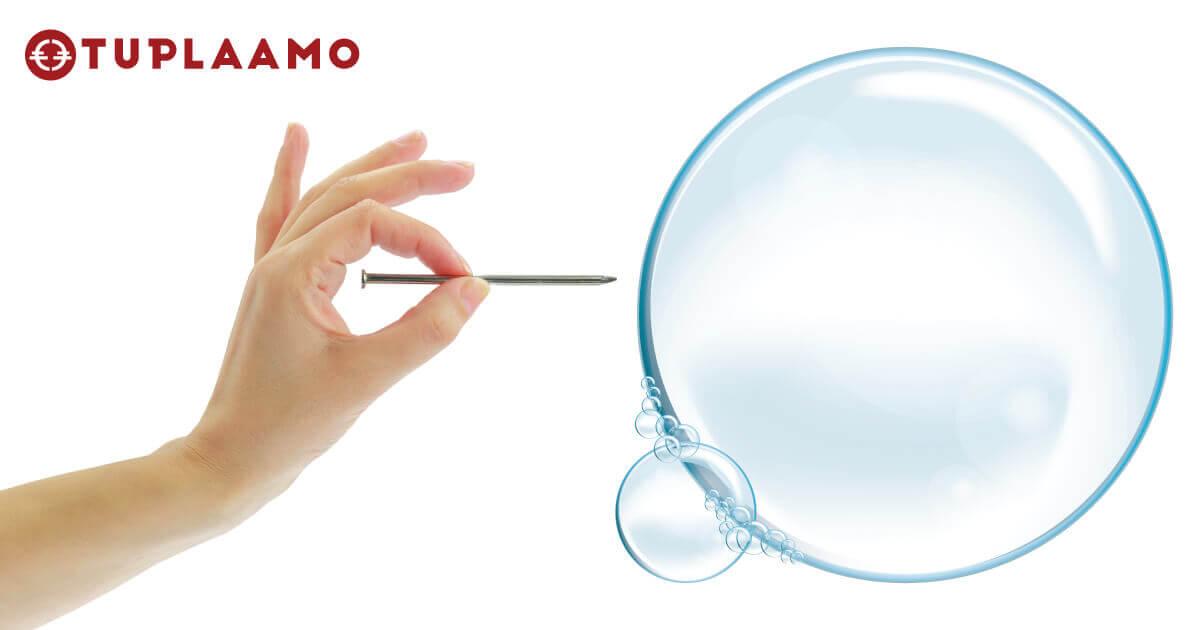 Poksauta kupla – Absurdit ideat esiin